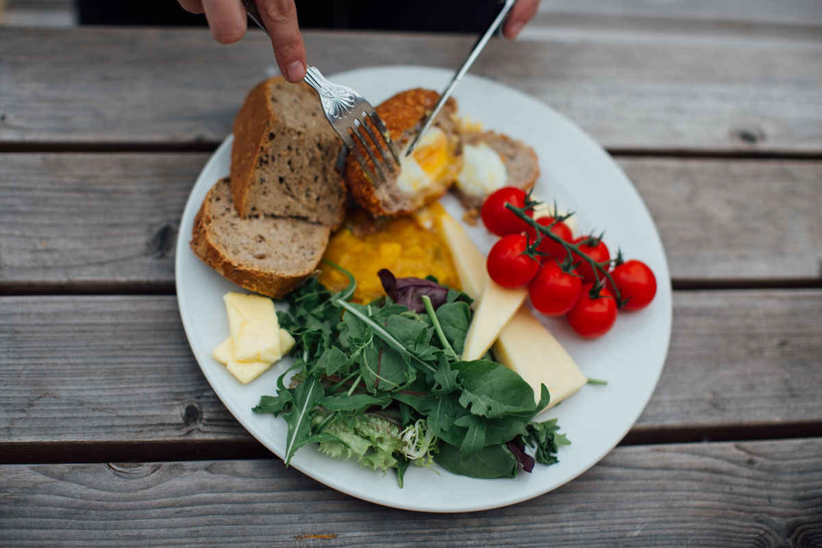 Food at the Marlborough Dedham